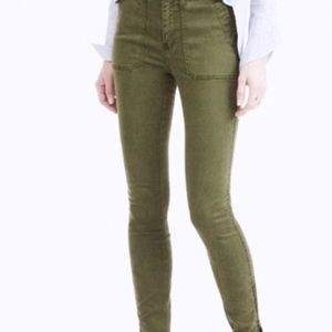 J. Crew Army Green Pants